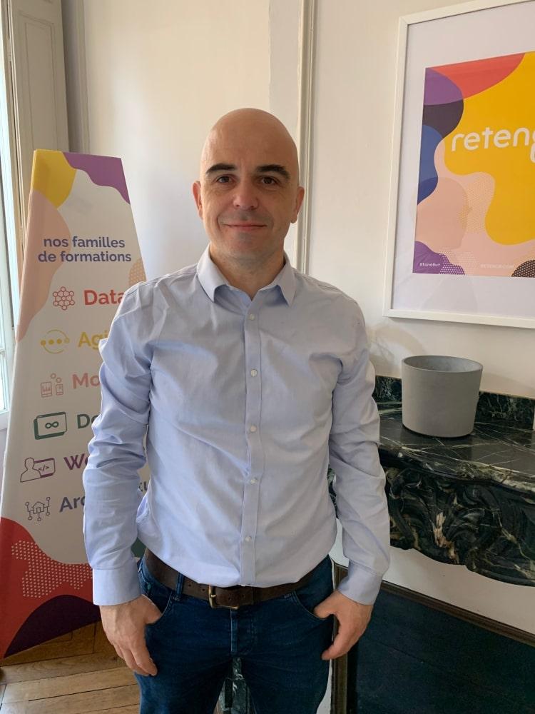 Olivier Bearn formateur hautes technologies Retengr